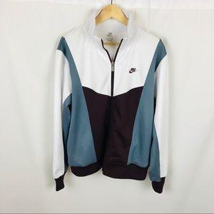 Men's Nike full zip athletic track jacket